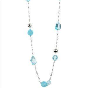 Royal Roller blue necklace